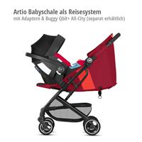Artio Babyschale als Reisesystem mit goodbaby Qbit+ All-City