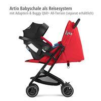 Artio Babyschale als Reisesystem mit goodbaby Qbit+ All-Terrain