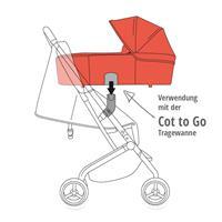 GB Babyschalen Adapter Qbit+ auf goodbaby, Cybex & Maxi-Cosi