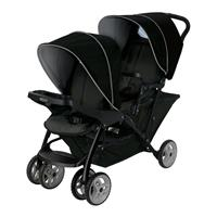 Graco Geschwisterwagen Stadium Duo Black / Grey