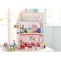 Haba Little Friends Puppenhaus Traumhaus Detailansicht 01