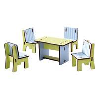 Haba Little Friends – Puppenhaus-Möbel Esszimmer