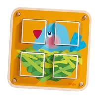 Haba Würfelpuzzle Gartentiere Detailansicht 01