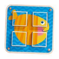 Haba Würfelpuzzle Gartentiere Ausschnitt 04