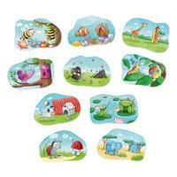 haba 301666 Puzzelei Farben und Muster 1 Hauptbild