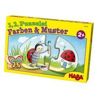 haba 301666 Puzzelei Farben und Muster 2 Detailansicht 01