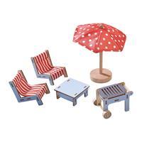 Haba Little Friends Puppenhaus-Möbel Terrasse