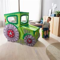 Haba Play tent Tractor Green
