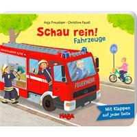 Haba Bilderbuch Schau rein-Fahrzeuge