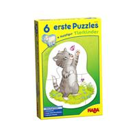 Haba 6 erste Puzzles Tierkinder