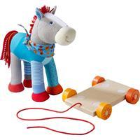 Haba pull-along toy horse Kunterbunt