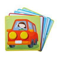 Haba assignment game Colorful colorful vehicle world