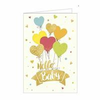 Hanra Glückwunschkarten Herzchenluftballons
