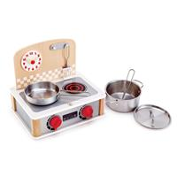 Hape 2 in 1 Kitchen and Grillset E3151