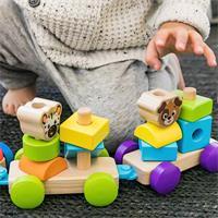 Hape Baby Einstein Holzspielzeug Discovery Train E11715
