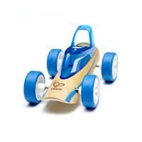 Hape Bambus Racer Buggy Blau