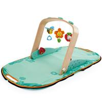 Hape portable play bridge with playmat
