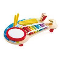 Hape Musik-Spielzeug E0612 Multifunktionale Miniband