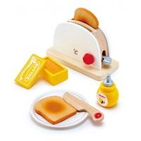 Hape Spielzeug Pop up Toaster Set