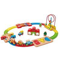 Hape Spielzeug Regenbogen Puzzle Eisenbahnset