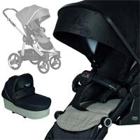 Hartan stroller set Racer GTX mit falt bag 618 Black Check