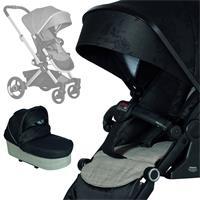 Hartan Kinderwagenset Vip GTX mit Falttasche 618 Black Check