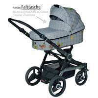 Xperia GTX Kinderwagen mit Falttasche | Design 634 Butterfly Check