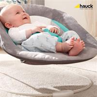 hauck Alpha bouncer 2in1 Newborn Set & Babywippe Hearts Grey