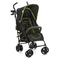 hauck Speed Plus S Buggy light & agile incl. Cupholder Caviar/Neon Yellow