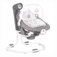 Joie Serina 2in1 Babyschaukel mit Musik & Babywippe abnehmbar Tile