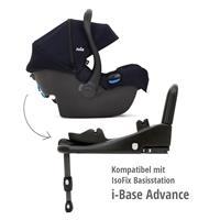 Joie i-Gemm Babyschale 2019 | verwendbar mit i-Base Advance navy blazer