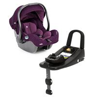 Joie i-Gemm Babyschale mit IsoFix Basis i-Base Advance Lilac