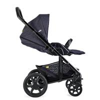 joie kinderwagen chrome dlx denim zest flache liegeposition