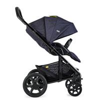 joie kinderwagen chrome dlx denim zest grosses sonnenverdeck