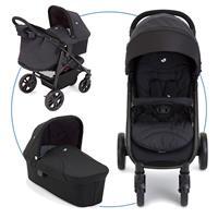 Joie Litetrax 4 Kinderwagen mit Babywanne Night Sky