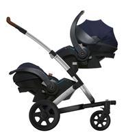 Joolz Babyschale iZi Go Modular by BeSafe mit Geo Fahrgestell obere & untere Position