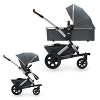 JOOLZ Geo2 Pram with Frame, upper Carry Cot, upper Seat Unit & Basket Earth Edition