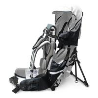 Kiddy Adventure Pack Baby Carrier Silver Grey