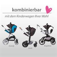 Kiddy Evo-Luna i-Size | Verwendbar als Travel-System mit vielen Kinderwagen