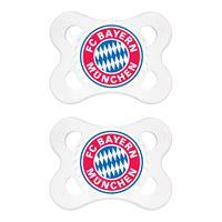 FC Bayern München Schnuller 0-6 Monate