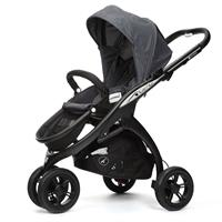 Casualplay Kudu 3 Pushchair black frame GRAPE