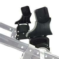 knorr baby Adapter 35093  für Babyschalen Maxi-Cosi Cybex Kiddy auf Classic Premium