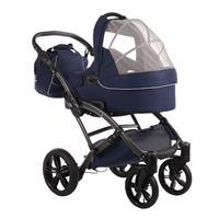 knorr baby Voletto Emotion Kombikinderwagen mit Tragewanne Night Blue 4250341314090 Luftdurchlaessig