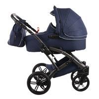 knorr baby Voletto Emotion Kombikinderwagen mit Tragewanne Night Blue 4250341314090 Seitenansicht