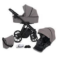 knorr baby Kombikinderwagen Luzon Black Edition