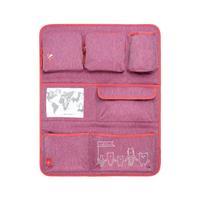 Lässig 4Kids Car Wrap-to-Go Rückenlehnenschutz Melange pink