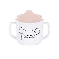 Lässig Becher Dish Cup Melamine/Silicone Little Chums Mouse