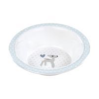 Lässig Schüssel Dish Bowl Melamine/Silicone Lela light blue