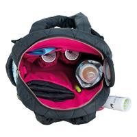 Laessig Wickelrucksack Glam Backpack Pacific Flower Black 1103007002 Inside
