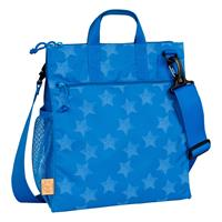 Lässig Casual Buggy Bag Wickeltasche Reflective Star Blue